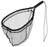 Ed Cumings Inc B-135 Ed Cumings Fish Saver Landing Net (Black, 14-Inch x 11-Inch Bow x 19 1/2-Inch Overall Length x 12-Inch Depth)