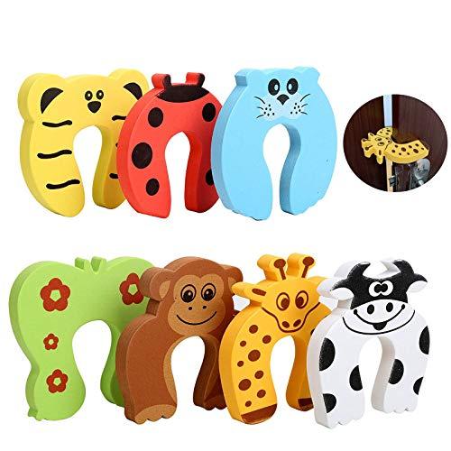Fermaporta Bambini Sicurezza 7 Pezzi Animale Fermaporta Bambini Schiuma Door Stopper Finger Pinch Guard Sicurezza Del Bambino Protezione Salvadita Con Animali Proteggi Dita Per Bambini Casa Ufficio