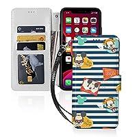 Iphone11ケース Iphone 11 Pro ケース Iphone 11 Pro Maxケース ミッキー 手帳型 財布型 Puレザー スマホケース マグネット カード収納 可愛いケース 携帯ケース あいふぉん11ケース 個性的 Iphone 11-6.1