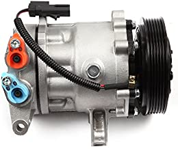 ECCPP A/C Compressor with Clutch Replacement for 2002-2005 J-eep Liberty 3.7L CO 4335C