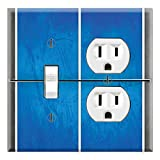 Graphics Wallplates - Ping Pong Table- Toggle Outlet Combo Wall Plate Cover