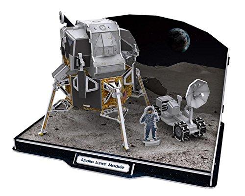 Cubic Fun - 3D Puzzle - Apollo Lunar Module - Puzzel - Mondlandefähre Spielzeug
