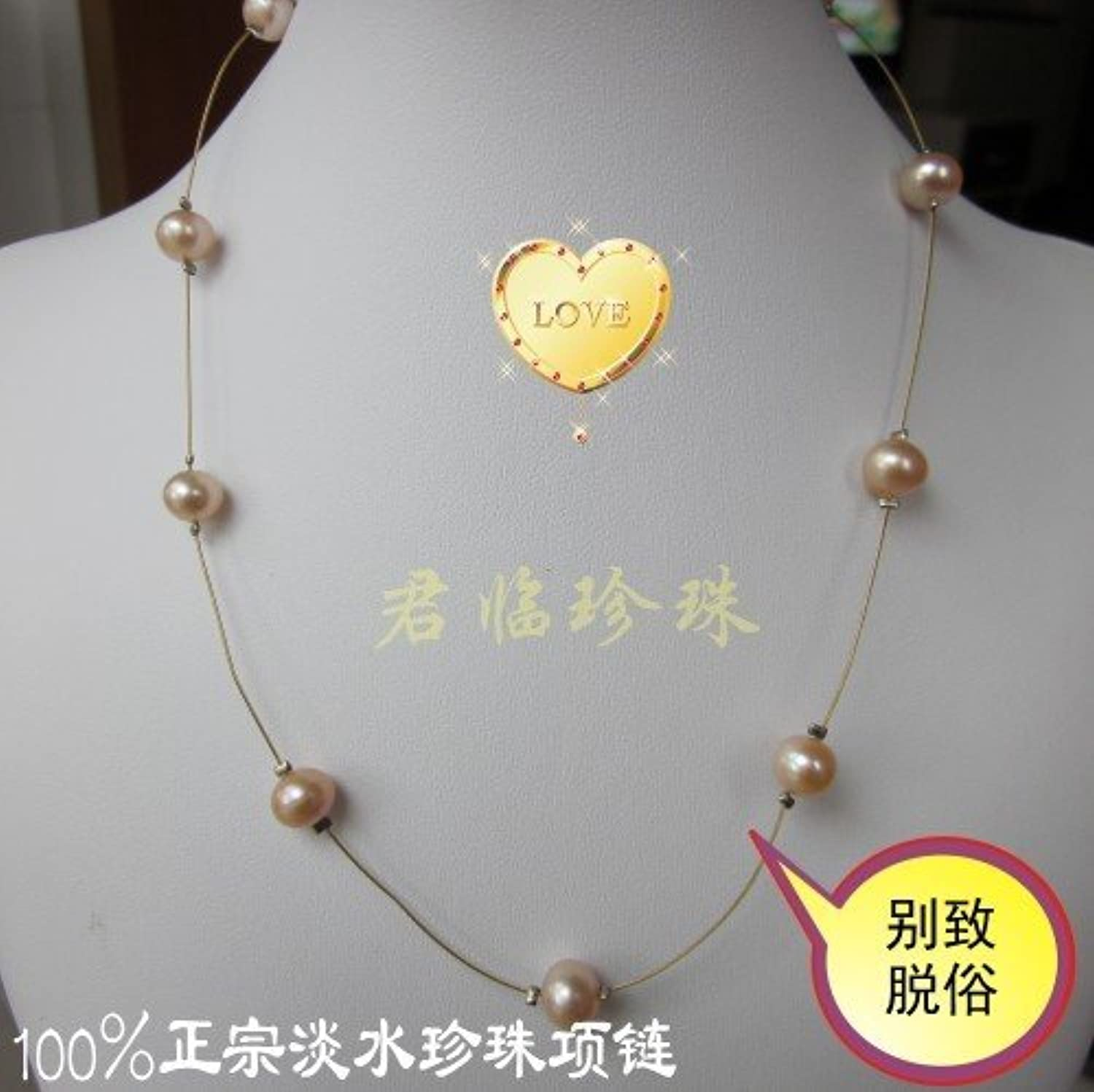 Women Girls Short Paragraph Clavicle Chain Short Paragraph Pearl Necklace Pendant Fashion Pearl Necklace Pendant Genuine Interval Playful Refined