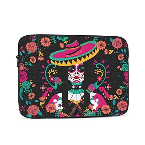 Undertale Laptop Sleeve Case Classic Notebook Computer Bag Slim Tablet Briefcase Business Travel Outdoor Black 12 inch