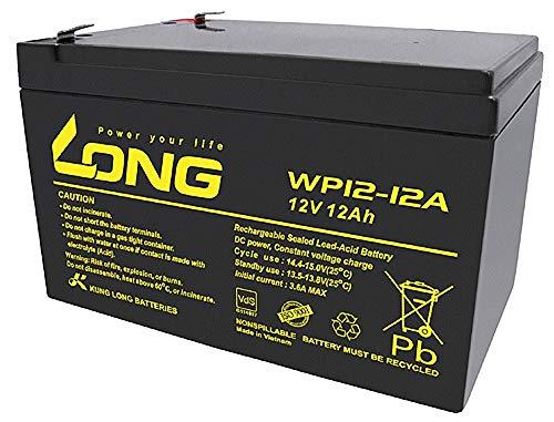 WSB Battery Blei-Akku WP12-12A 12V 12Ah Lead-Acid, kompatibel LC-RA1212PG, LC-RA1212PG1, Exide Powerfit S312/12S, NP12-12, FG21202, NP12-12-WT, MP12-12B, 6-FM-12, 6-DZM-12