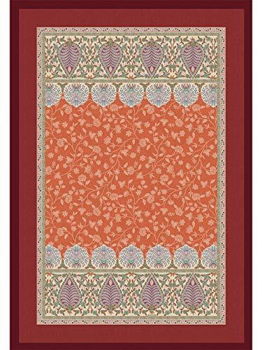 Bassetti Plaid, Baumwolle, Orange, 270X250 cm