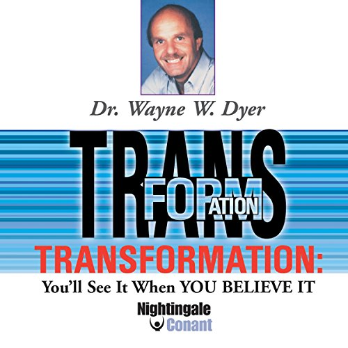 Transformation audiobook cover art
