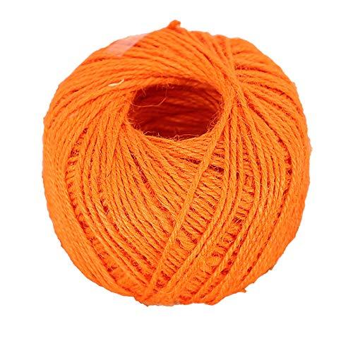 25M Cuerda De Cáñamo Natural De La Cuerda De La Cuerda De La Cuerda De La Cuerda De La Cuerda De La Cuerda De La Cuerda De La Cuerda De La Cuerda De La Cuerda De La Cuerda De La C(Color:naranja)