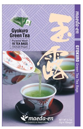 Maeda-En Premium Gyokura Green - Free shipping / New Bags Limited Special Price Tea 10-Ounce