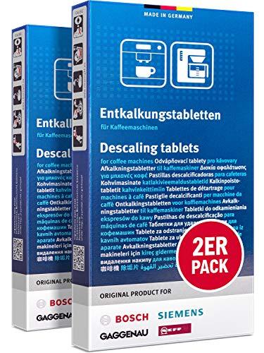 Siemens TZ80002 Entkalkungstabletten für EQ Series, 2 Packungen