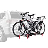 Soporte Allen Sports Premier para 2 Bicicletas con Parrilla de Bloqueo, Modelo AR200, Negro