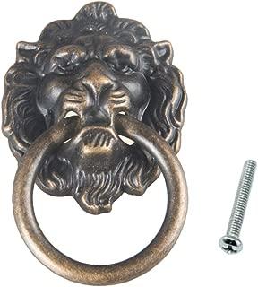 Beioust Antique Bronze Lion Head Pulls for Dresser Drawer Cabinet Door Handles Knobs
