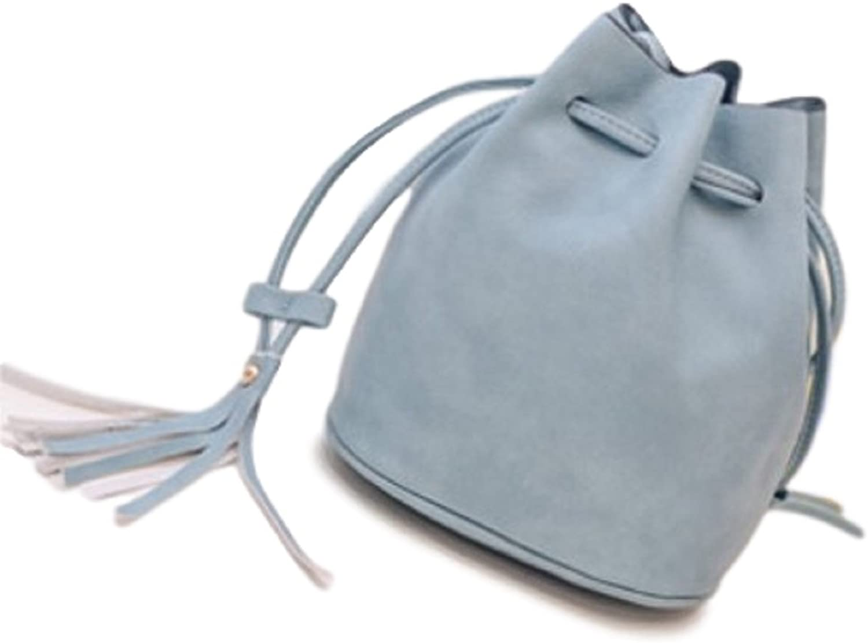 [OTokyo] Trend color Small Shoulder Drawstring Bag for Women Cross Body