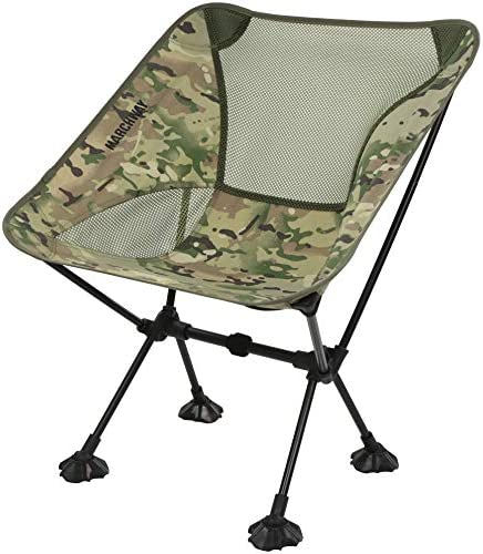 MARCHWAY Ultralight Folding Camping Chair with Anti Sinking Wide Feet Portable Compact for Outdoor product image