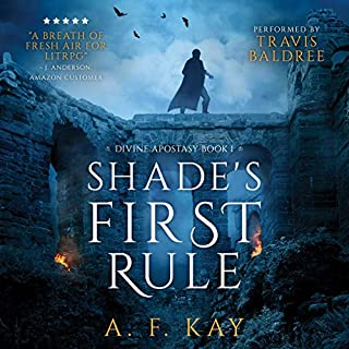 Shade's First Rule: A Fantasy LitRPG Adventure cover art