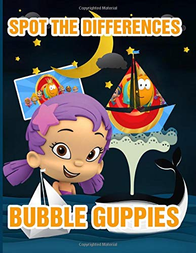 Bubble Guppies Spot The Difference: Creativity & Relaxation Bubble Guppies Adult Spot The Differences Activity Books