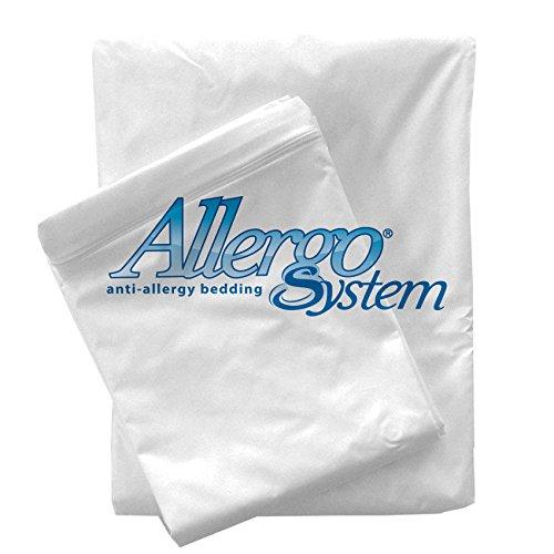 Allergosystem Set Antiacaro da Viaggio Sogno, coprimaterasso e copricuscino, Polyester, 90x200x20CM e 50x80cm