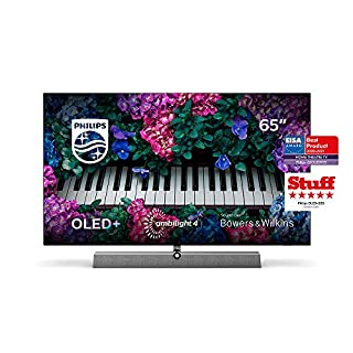 Philips Ambilight TV 65OLED935/12 OLED TV 65 Zoll - 164 cm mit Sound von Bowers & Wilkins (P5 Picture Engine mit KI, 4K UHD, Dolby Vision∙Atmos, Android TV, Triple Tuner) [2020/2021 Modell] (B08K47W131)   Amazon price tracker / tracking, Amazon price history charts, Amazon price watches, Amazon price drop alerts