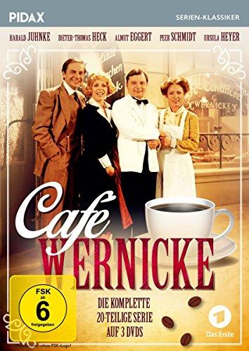 Café Wernicke / Die komplette 20-teilige Kultserie (Pidax Serien-Klassiker) [3 DVDs]