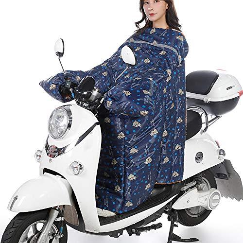 Scooters universales Cubierta de la Pierna Rodilla Manta Calentador Impermeable A Prueba de Viento Motocicleta Edredón de Invierno (Color : Pattern 3)