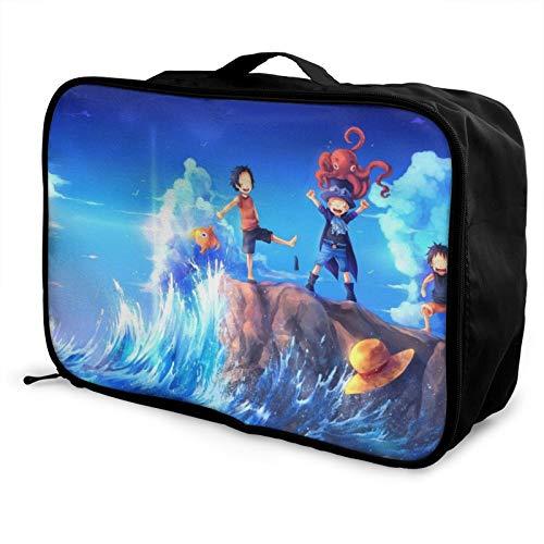 Bolsa de viaje de una sola pieza para equipaje con bolsa de viaje para llevar durante la noche