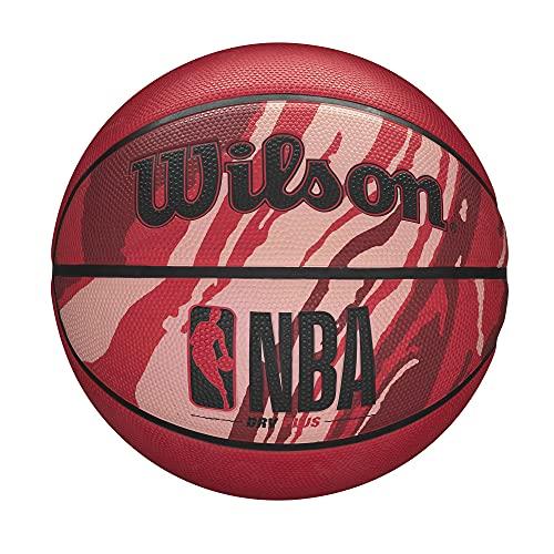 "WILSON NBA DRV Series Basketball - DRV Plus, Granite Red, Size 7-29.5"""