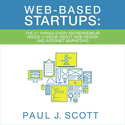 Web Based Startups audiobook cover art