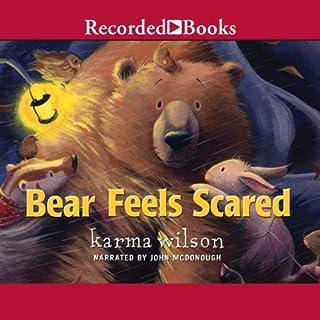 Bear Feels Scared audiobook cover art