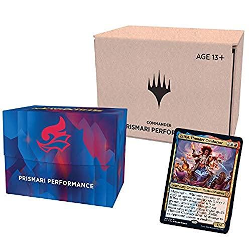 Magic: The Gathering Deck de Commander de Strixhaven – Prismari Performance (azul e vermelho) - Inglês