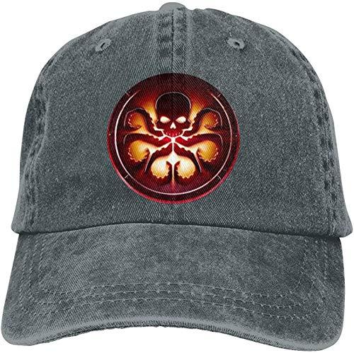 sanuo Women's&Men's Unisex Comfortable Agent of Shield Hydra Logo Hats Adjustable Strapback