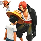 Luffy and Shanks Figure Straw Hat Become A King Encourage Birthday Christma
