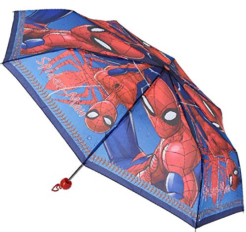 Marvel Spiderman paraplu opvouwbaar met beschermtas