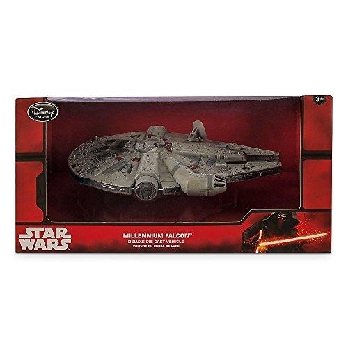 Star Wars USA Disney Store limited die-cast vehicles Millennium Falcon / STAR WARS Disney Store DIE CAST Vehicle MILLENNIUM FALCON