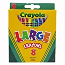 Crayola Large Crayons (CYO520080)