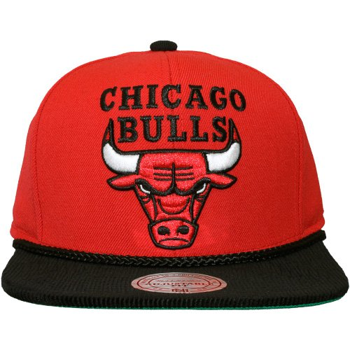 Mitchell & Ness - Casquette Snapback Homme Chicago Bulls Viscord