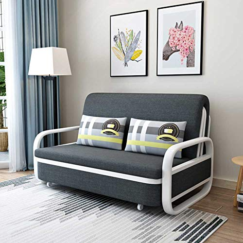 RJMOLU Sofá Convertible Sofá Cama, Silla Durmiente Plegable, Sofá reclinable de Ocio con Almohada, Sofá de salón para Sala de Estar Dormitorio en casa Oficina,G,1.08m