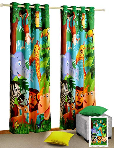 Jungle Animals Curtains