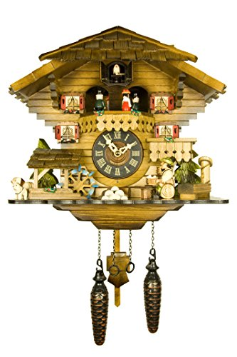 Adolf Herr Engstler Quartz Cuckoo Clock - The Tipsy Beer Drinker