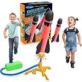 DEVRNEZ Juguetes Niños 3-12 Años, Juegos Exterior Niños Juegos Niños 3-12 Años Juegos al Aire Libre para Niños Regalos Niña 3-12 Años Cohete Juguete Regalos Cumpleaños Niños Colegio Regalos