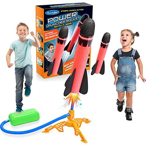 Lancoo goz Juguetes Niños 3-12 Años, Juegos Exterior Niños Juegos Niños 3-12 Años Juegos al Aire Libre para Niños Regalos Niña 3-12 Años Cohete Juguete Regalo Navidad Niño