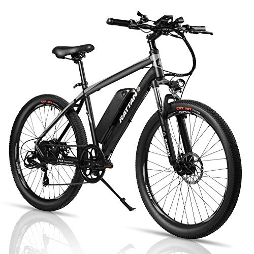 Eahora E1.0 Fat Tire Electric Bike Beach Snow Bicycle 26' 4.0 inch Fat Tire Ebike 500W 48V/10.4AH...