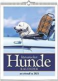 Literarischer Hunde-Kalender 2021: Wochenkalender mit Fotografien und Zitaten - Hundekalender2021