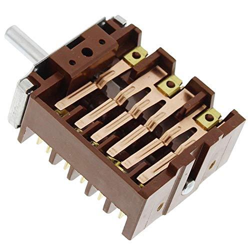 spares2go Funktion Schalter für Kaminöfen Ofen Herd