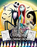The Nightmare Before Christmas Coloring Book: Tim Burton Coloring Book With High Quality Images For Kids And Adults | It Will Be Fun!