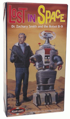 Polar Lights Lost in Space Dr. Zachary Smith and Robot B-9