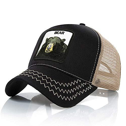 IMmps Gorra de béisbol de Malla de Moda Unisex Sombrero de Animal Lindo Sombrero de Mujer para Hombre Sombrero de papá Verano Ajustable - 23