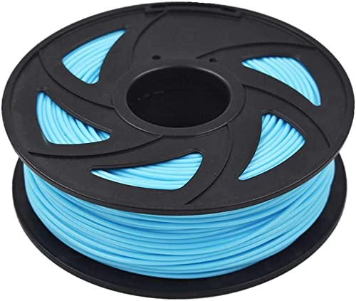 discount ABS 3D Printer Filament - 2.20 lb 2021 (1KG) The Diameter of 3.00 mm, sale Dimensional Accuracy ABS Multiple Color (Sky Blue) sale