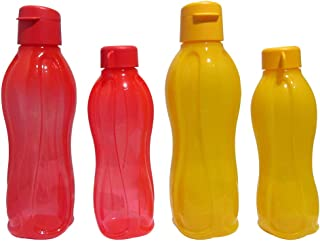 TP-240-T500 Tupperware Aquasafe Sports Water Bottle (Screw Top Round 500ml, 4 Pcs)