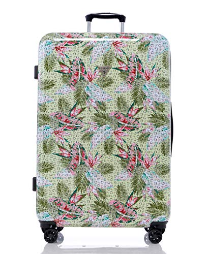 Guess Depree Collection 28' 8-Wheeled Spinner, Green Print, One Size