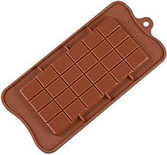 Marron Unbekannt Silikomart 195926/Chocolat Forme Classic Choco Bar Moule en Silicone pour Chocolat 11,5/x 7,7/x 9/cm